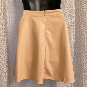 Ark & Co Skirts - ark & co pleather skirt with zips